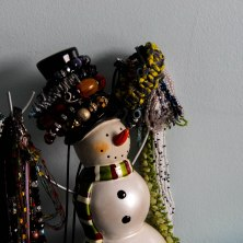Bejeweled Snowman